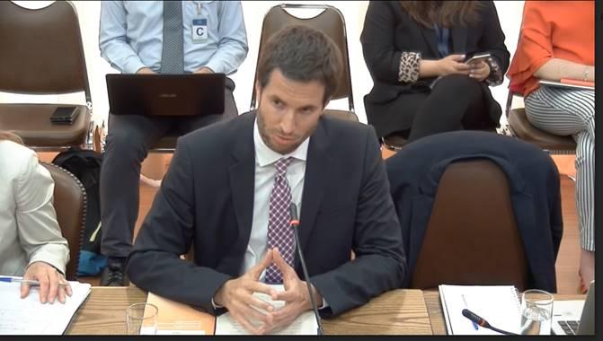 Ministro Ruiz presenta ante Comisión de Medio Ambiente de la Cámara de Diputados