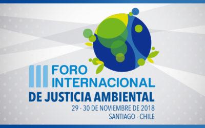 III Foro Internacional de Justicia Ambiental