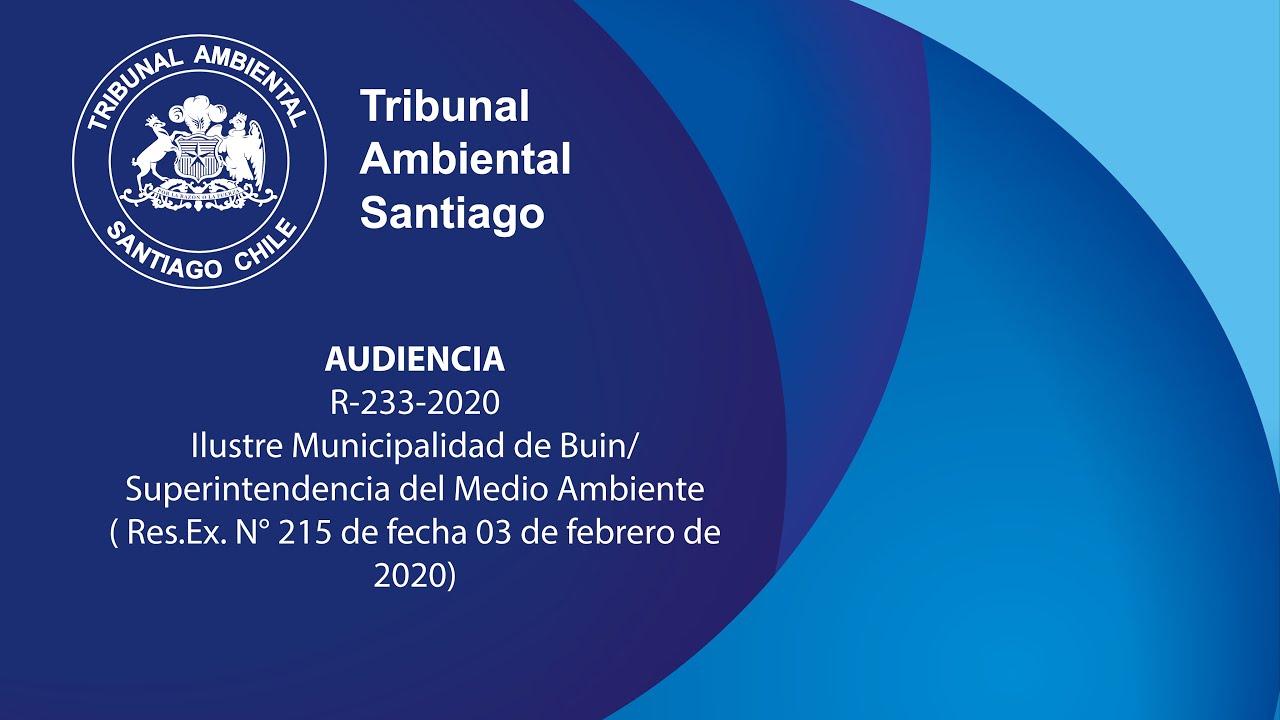 Ilustre Municipalidad de Buin en contra de la Superintendencia del Medio Ambiente
