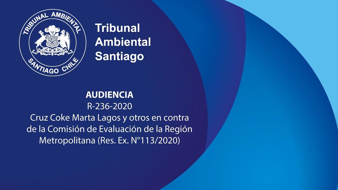 Lagos Cruz Coke, Marta y otros en contra de la Comisión de Evaluación de la Región Metropolitana