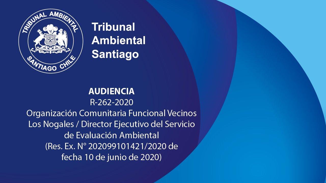 R-262-2020 ENAP Refinerías S.A. / Superintendencia del Medio Ambiente