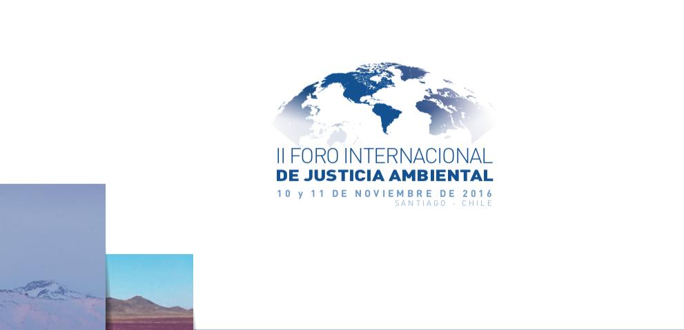 II Foro Internacional de Justicia Ambiental