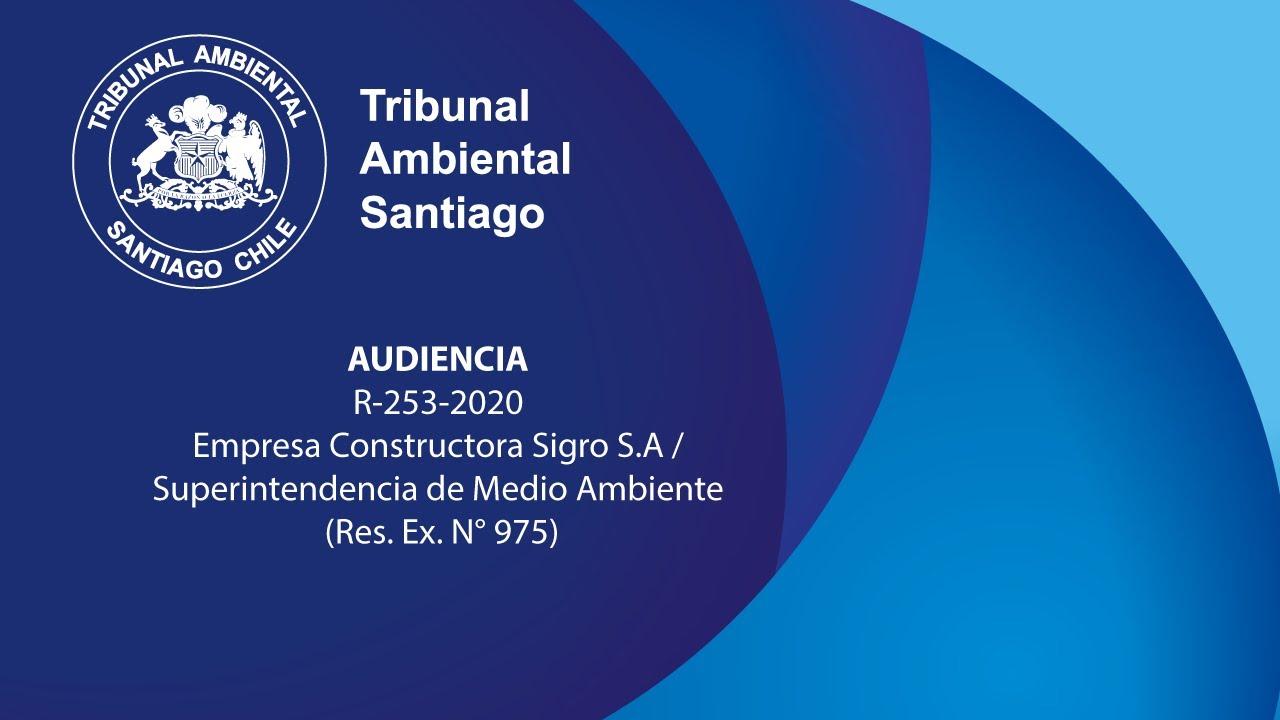 R-253-2020 Empresa Constructora Sigro S.A. en contra de la Superintendencia de Medio Ambiente