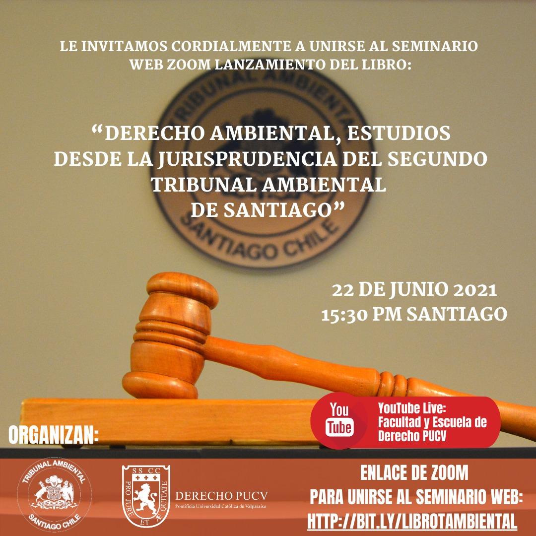 Tribunal Ambiental de Santiago lanzará oficialmente su primer libro sobre Jurisprudencia Ambiental
