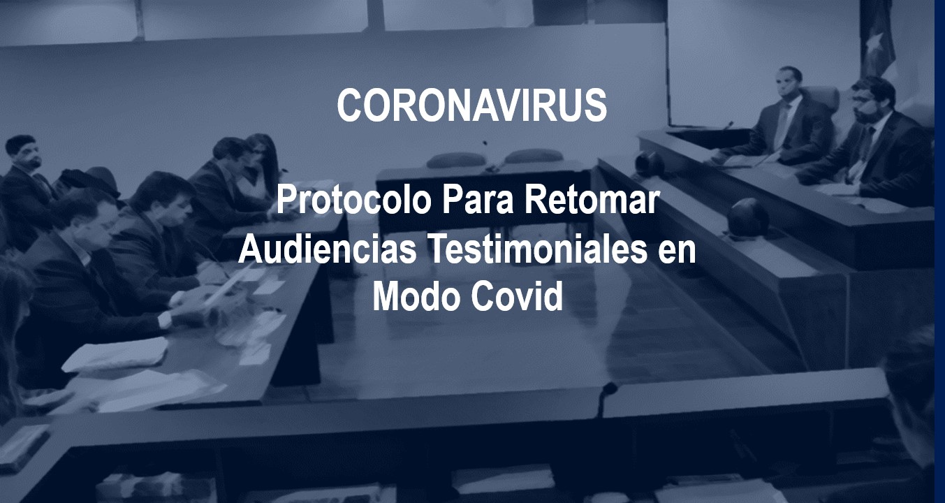 Segundo Tribunal Ambientalelaboró protocolo para retomar audiencias testimoniales en modo Covid
